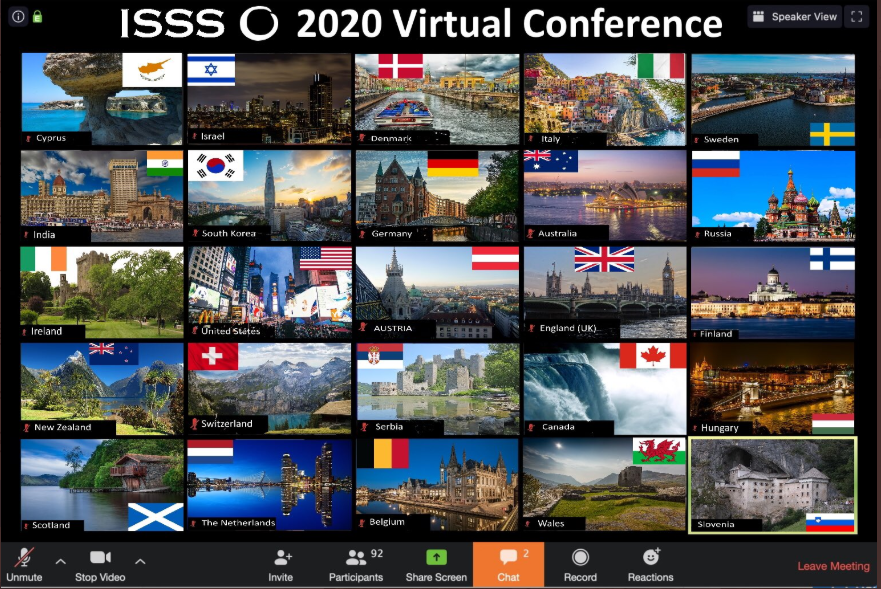 ISSS 2020 virtual conference